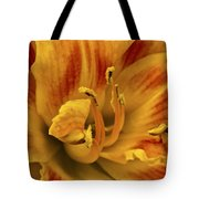 Double Daylily Tote Bag