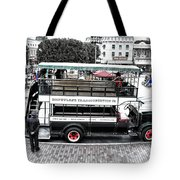 Double Decker Bus Main Street Disneyland Sc Tote Bag