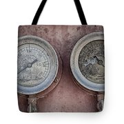 Double Dials Tote Bag
