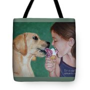 Double Dip - Ice Cream For Two Tote Bag