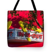 Double Double With Cheese Animal Style Yum Tote Bag
