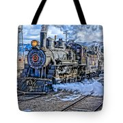 Double Header Nevada Northern Railway #1 Tote Bag