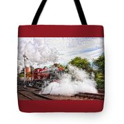 Double Header Tote Bag