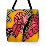 Double Ring Hearts Tote Bag