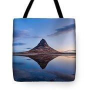 Double Kirkjufell Iceland Tote Bag