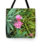 Double Oleander Tote Bag