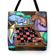 Double Or Nothing Tote Bag