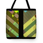 Double Pattens Tote Bag