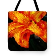 Double Petaled Lilly Tote Bag