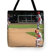 Double Play Tote Bag