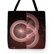 Double Slit Test  Tote Bag