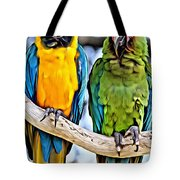 Double Troublers Tote Bag