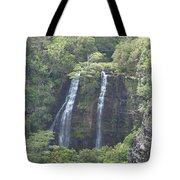 Double Waterfall Tote Bag
