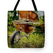 Double Wheelbarrow Tote Bag