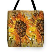 Double Yellowed Tote Bag