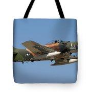 Douglas Ad-4 Skyraider Tote Bag