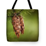 Douglas Fir Cones Tote Bag