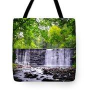Dove Lake Waterfall At Gladwyne Tote Bag