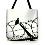 Dove Mourning Tote Bag