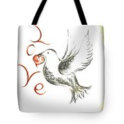 Dove Of Love Tote Bag