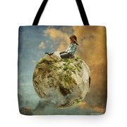 Dove Whisperer Tote Bag
