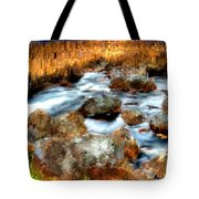 Down By The Brook Tote Bag