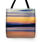 Down By The River Tote Bag by Theresa Tahara