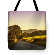 Down By The Road. Scotland Tote Bag