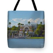 Down By The Station Tote Bag