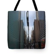 Down E 43rd Street N Y C Tote Bag