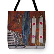 Down East Equipment  Tote Bag