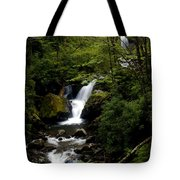 Down From The Hills Tote Bag
