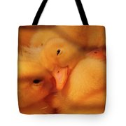 Down Of Gold Tote Bag