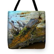 Down On The Beach Tote Bag