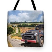 Down On The Farm - International Harvester S-100 Tote Bag