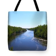 Down River Tote Bag