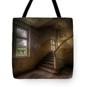 Down Stairs Tote Bag