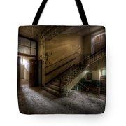 Down Stairs Ward Tote Bag