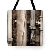 Down The Drains Tote Bag