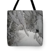 Down The Lane Tote Bag