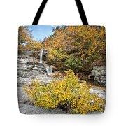 Down The Rocks Tote Bag
