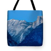 Down The Valley Yosemite Tote Bag