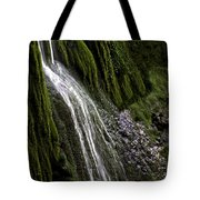 Down The Wall Tote Bag
