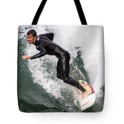 Down The Wave Slope Tote Bag