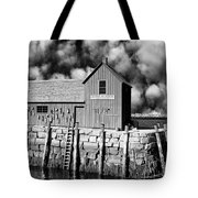 Down To The Waterline Tote Bag