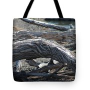 Down Tree Arch Tote Bag