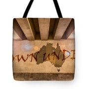 Down Under Map  Tote Bag