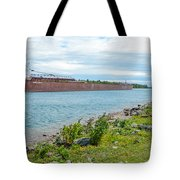 Downbound At Mission Point 3 Tote Bag