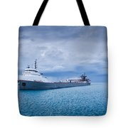 Downbound Tote Bag