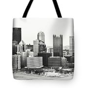 Cold Winter Day In Pittsburgh Pennsylvania Tote Bag